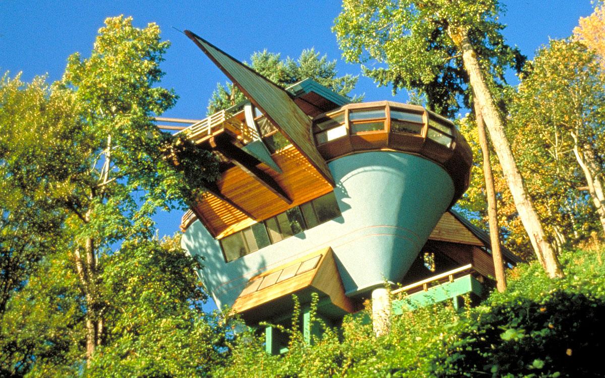 elk rock residence  robert harvey oshatz  organic architect -