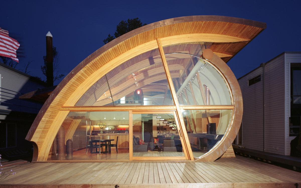 fennell residence  robert harvey oshatz  organic architect -