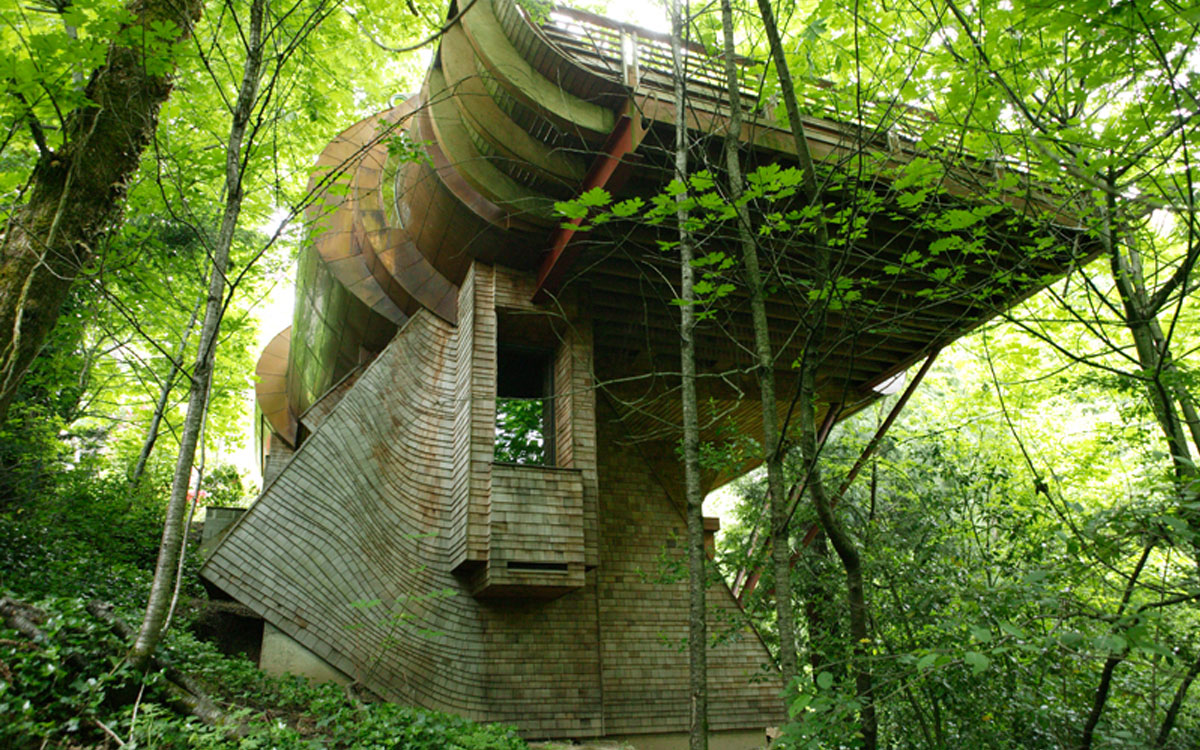 wilkinson residence  robert harvey oshatz  organic architect -